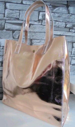 Echtledertasche neu in rosegold