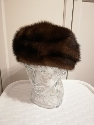 Fur Hat brown-dark brown pelt