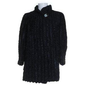 Echtpelz Kurzmantel Jacke schwarz Damen M 38