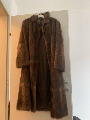 Echtpelz Mantel