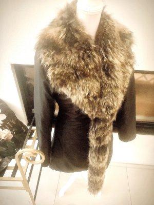 Brax Manteau de fourrure multicolore