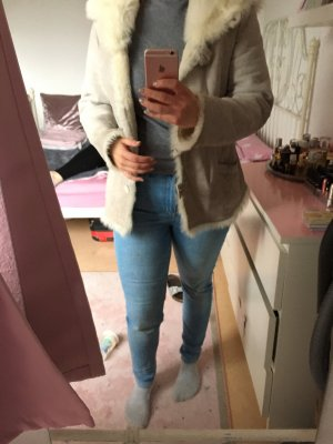Echtpelzjacke Jacke Mantel Übergangsjacke Luxus Kapuze
