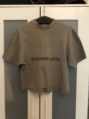 Eckhaus Latta T-Shirt / Rollkragenpulli