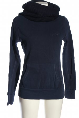 Ecko unltd Kapuzensweatshirt blau Schriftzug gestickt Casual-Look