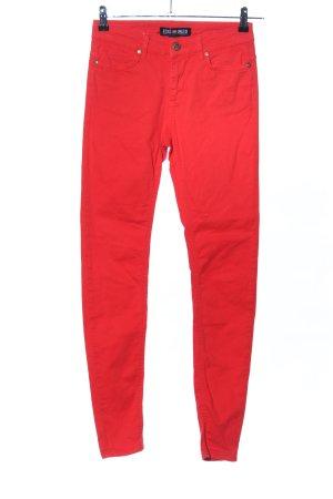 Ecko unltd Skinny Jeans rot Casual-Look