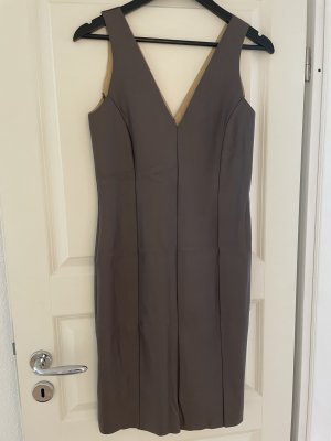 Coo Culte Skórzana sukienka czarno-brązowy