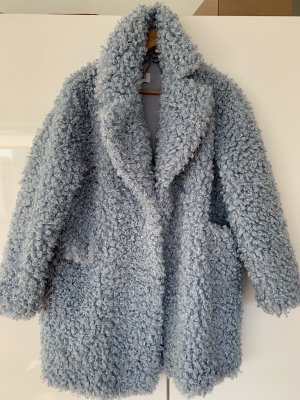 Ecological shearling coat
