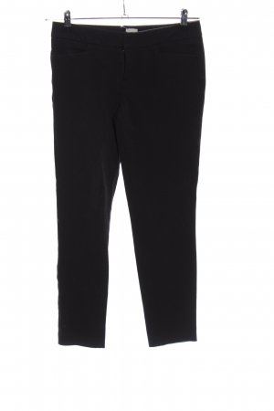 Ecru Pantalon fuselé noir style décontracté