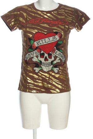 Ed Handy Print-Shirt