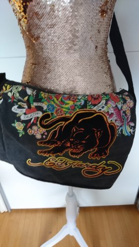 Ed Hardy Bolso estilo universitario multicolor
