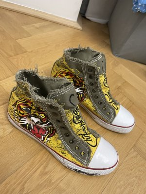 Ed Hardy Wedge Sneaker multicolored
