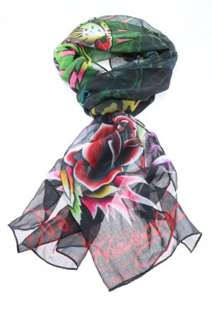 Ed Hardy Sommerschal Allover-Druck Casual-Look