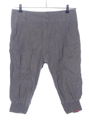 edc Pantalon 3/4 gris clair style décontracté