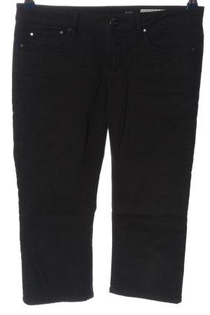 edc Spodnie 3/4 czarny W stylu casual