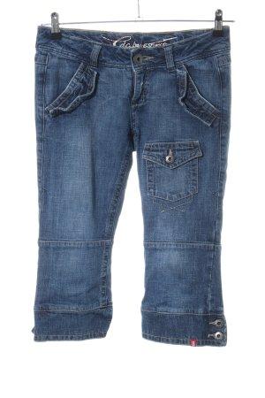 edc Jeans a 3/4 blu stile casual