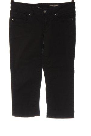 edc Jeansy 3/4 czarny W stylu casual