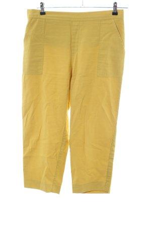 edc Pantalón tobillero amarillo pálido look casual