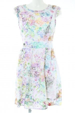 edc A-Linien Kleid abstraktes Muster Elegant