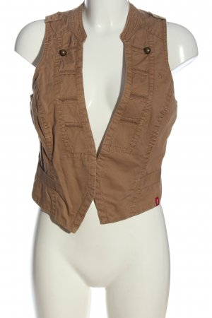 edc Gilet marrone stile casual