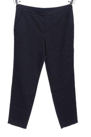 edc Baggy Pants schwarz-weiß Streifenmuster Business-Look