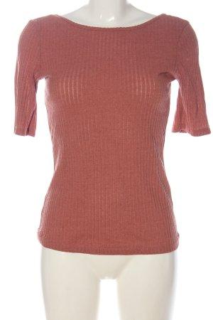 edc Basic-Shirt pink Casual-Look