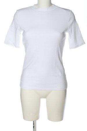 edc Basic-Shirt weiß Casual-Look