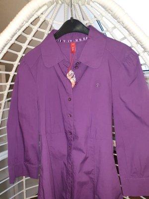 edc by Esprit Blusa-camisa púrpura Algodón