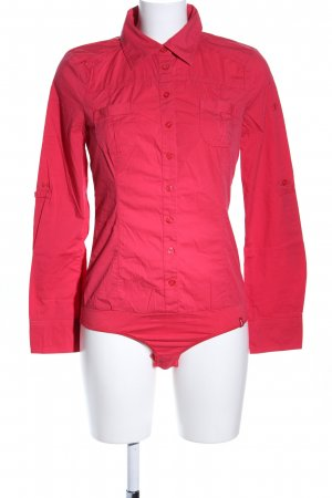 edc Blusa tipo body rojo estilo «business»