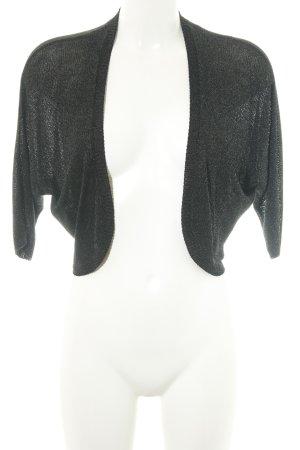 edc Bolero schwarz-silberfarben Elegant
