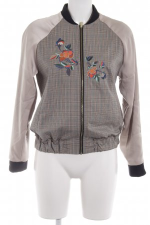 edc Bomber Jacket flower pattern casual look