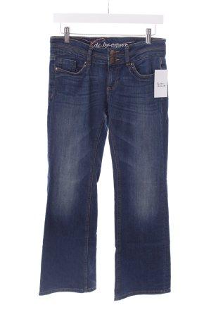 Edc Esprit Boot Cut Jeans dunkelblau Jeans-Optik