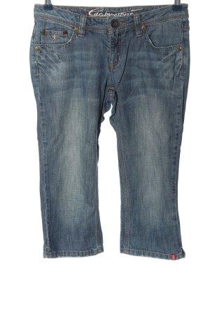 edc by Esprit 3/4-broek blauw casual uitstraling