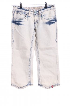 edc by Esprit Jeans a 3/4 bianco-blu stile casual