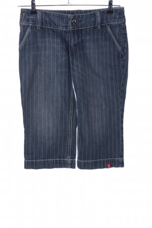 edc by Esprit 3/4 Jeans blau Allover-Druck Casual-Look