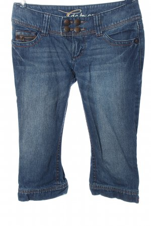 edc by Esprit 3/4-jeans blauw casual uitstraling