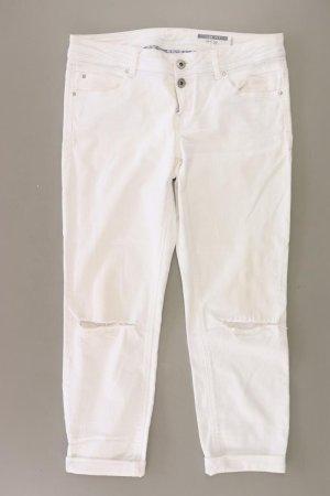 edc by Esprit Jeansy 7/8 w kolorze białej wełny Bawełna