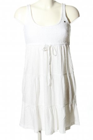 edc by Esprit A-Linien Kleid weiß Casual-Look