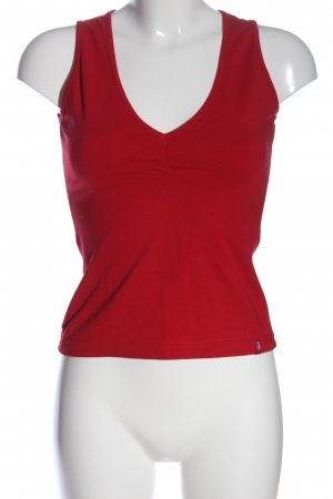 edc by Esprit ärmellose Bluse rot Casual-Look