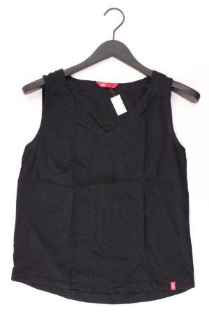 edc by Esprit Ärmellose Bluse Größe S schwarz aus Viskose