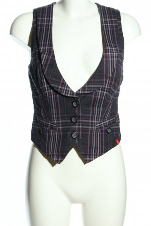 edc by Esprit Waistcoat check pattern business style