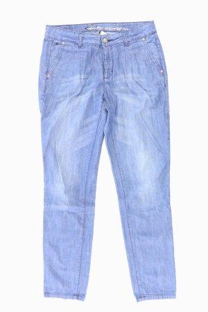edc by Esprit Baggy Jeans blue-neon blue-dark blue-azure cotton