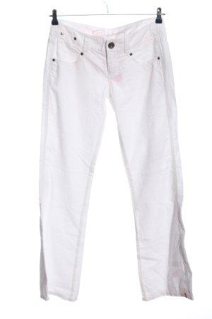 edc by Esprit Pantalone jersey bianco stile casual