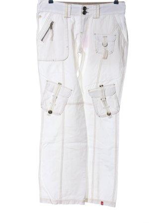 edc by Esprit Baggy broek wit casual uitstraling