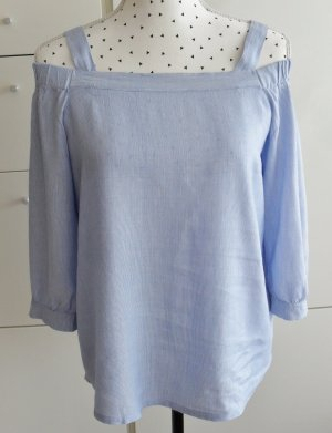 edc by Esprit Carmen blouse azuur