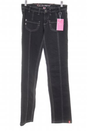 edc by Esprit Boot Cut Jeans schwarz Casual-Look