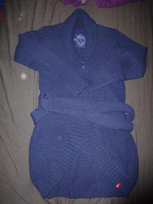 edc by Esprit - Cardigan Jacke Strickjacke - lila blau dunkelblau Gr. M