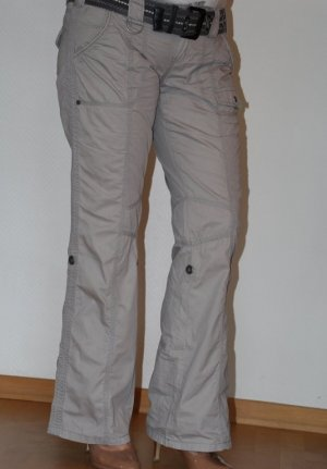 edc by Esprit Cargo Pants light grey cotton