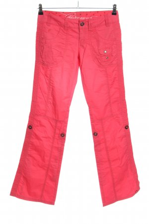 edc by Esprit Cargohose rot Casual-Look