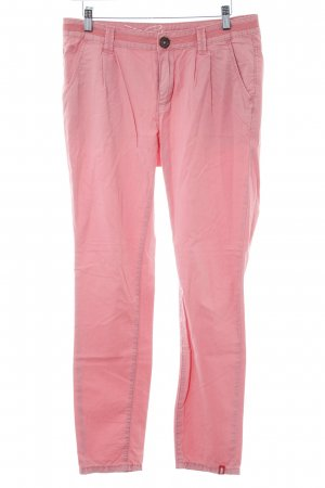 edc by Esprit Chinohose rosa Casual-Look