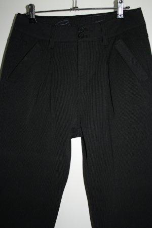 edc by Esprit Boyfriend Trousers black-dark grey